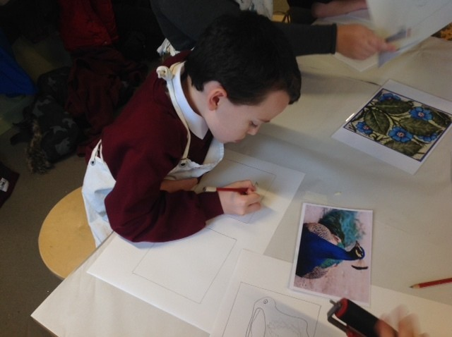 Primary pupil drawing
